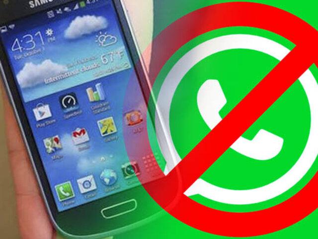 Estos son los modelos de celulares que se quedarán sin WhatsApp desde el 1 de noviembre