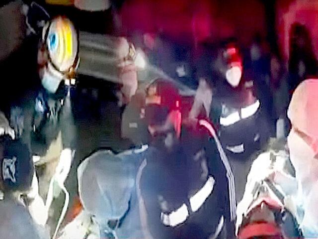 Camioneta impacta contra un mototaxi y deja un herido en la vía Ramiro Prialé