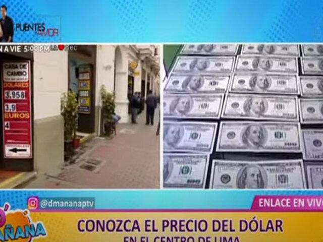 Dólar en el Perú: precio del billete verde subió al inicio de la jornada de hoy, lunes 18 de octubre