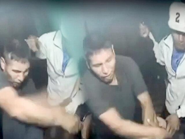 Ate Vitarte: delincuentes agarran a golpes a empresario en hostal para robarle