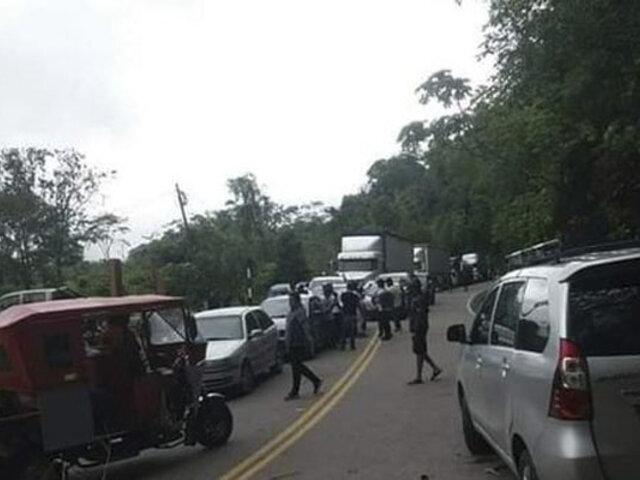 Puno: bloquean carretera Interoceánica exigiendo se detenga erradicación de la hoja de coca