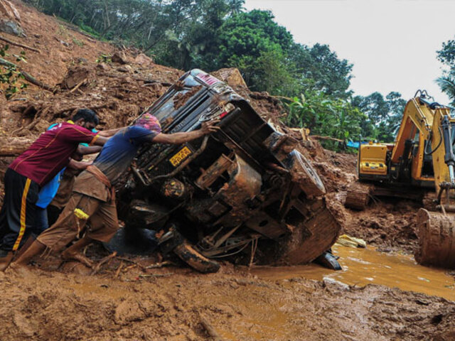 Decenas de muertos, heridos y desaparecidos dejan las fuertes lluvias en el sur de la India