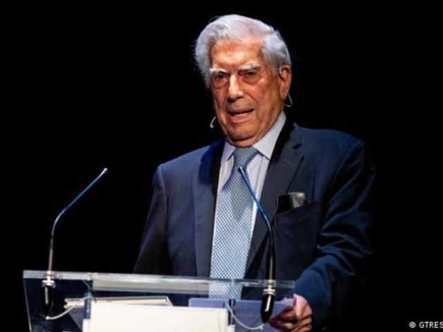 """Mario Vargas Llosa ruega a firmar por campaña del """"No a la Asamblea Constituyente"""""""