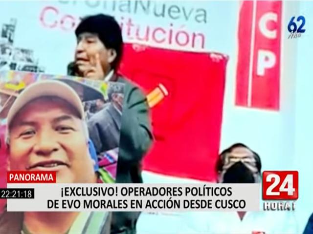 Reacciones por la filial del MAS-IPSP de Evo Morales en Cusco