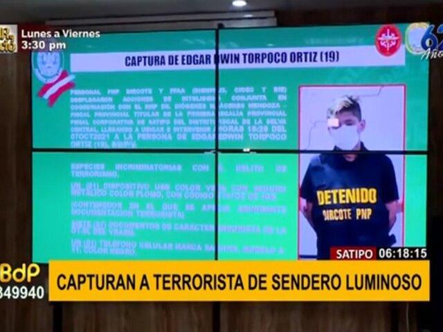 Capturan a terrorista con plan para asesinar a periodistas y colaboradores eficaces