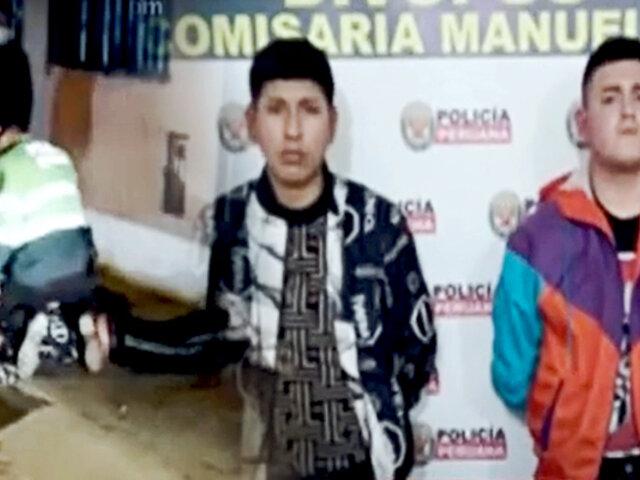 'Los apretones de Boterín': banda juvenil chalaca fue detenida tras robar celular