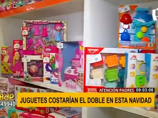 Navidad 2021: juguetes costarían el doble por incremento del precio de fletes