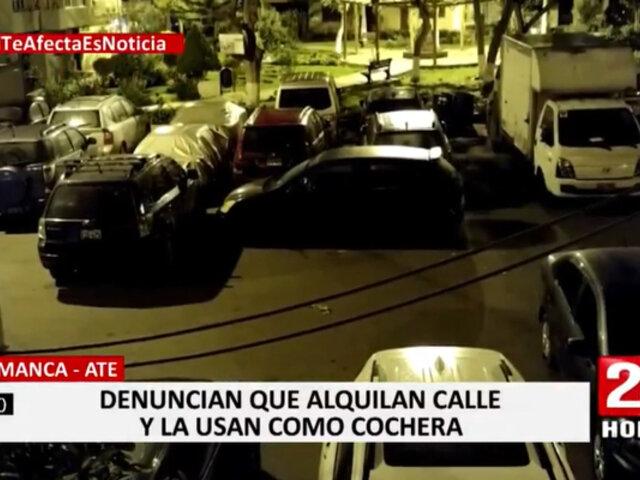 Salamanca: hombre que cobra por estacionamiento señaló que lo hace para costear la vigilancia de la zona