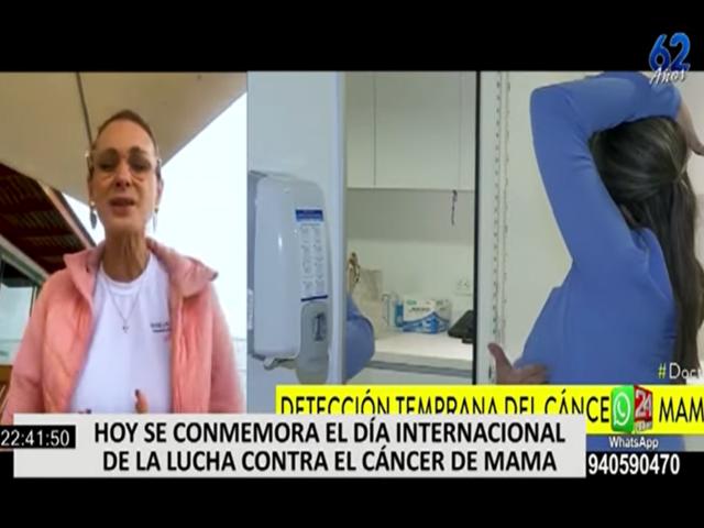 Olga Zumarán y Denisse Dibós y sus testimonios de lucha contra el cáncer