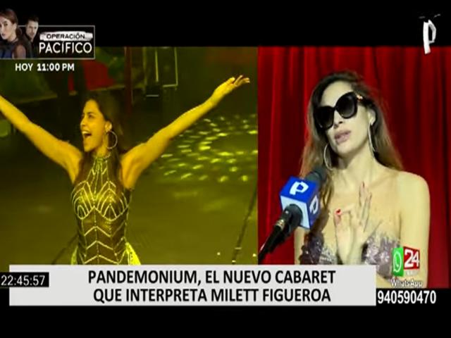 Milett Figueroa protagonizará obra de teatro 'Pandemonium'