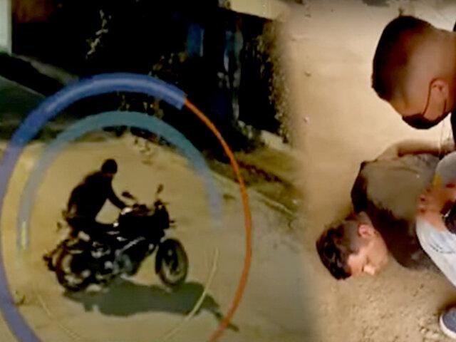 Ladrón roba motocicleta valorizada en más de $8 mil para empeñarla por cerveza
