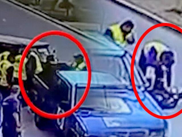SMP: denuncian a fiscalizadores de Comas por intervenir mototaxi irregularmente
