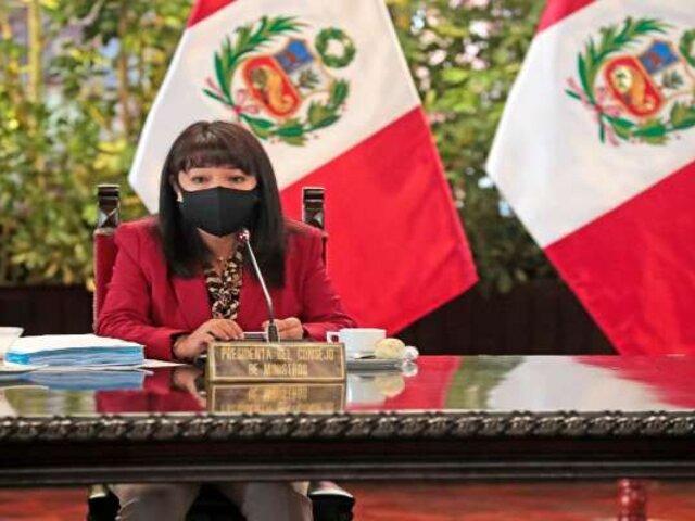 Mirtha Vásquez se reunió con las bancadas de Avanza País, Renovación Popular y Partido Morado