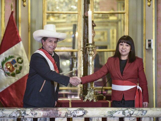 Premier Mirtha Vásquez asistirá este lunes al Congreso en busca del voto de confianza