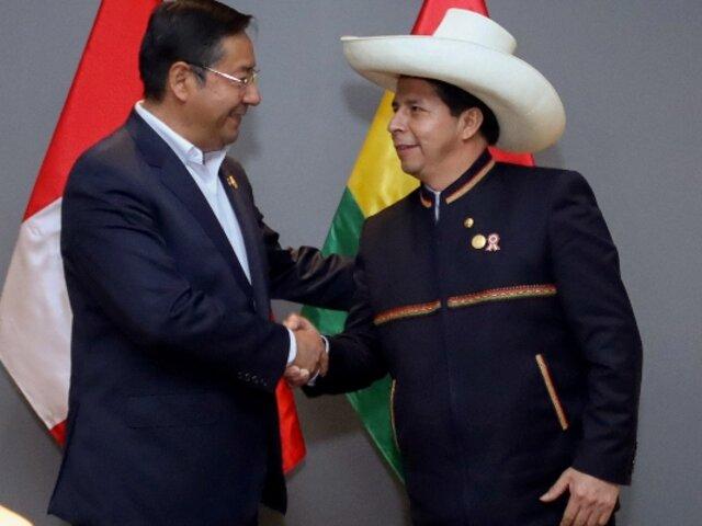 Pedro Castillo pide al Congreso viajar a Bolivia para participar de un encuentro presidencial