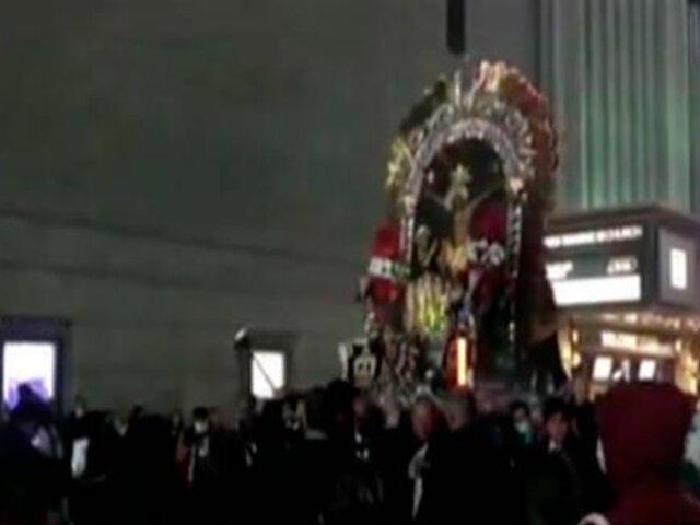 Estados Unidos: Señor de los Milagros recorrió las calles de Nueva York
