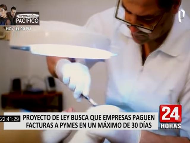 Proyecto de ley busca que empresas paguen facturas a las Pymes en menos de un mes