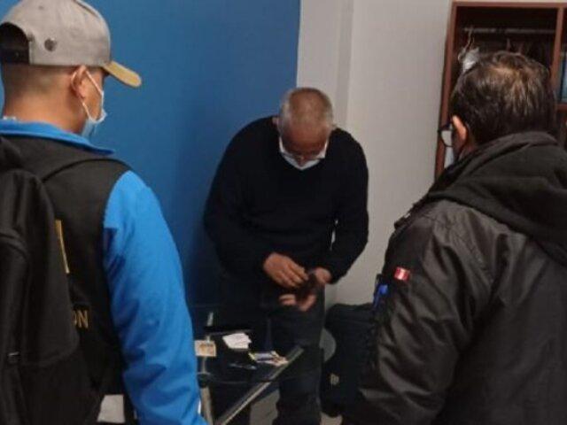 Huaura: intervienen a funcionarios de municipalidad acusados de integrar banda criminal