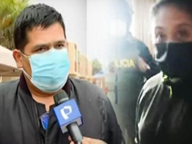 Exmilitar denuncia desalojo intempestivo de su casa en Chorrillos