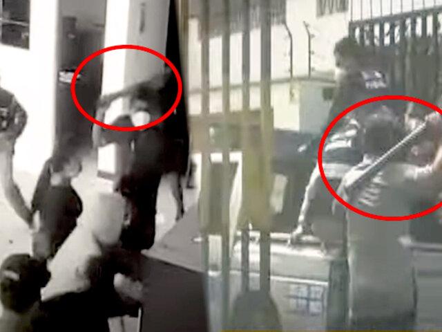 Mafias de cobro de cupos estarían tras ataques de ambulantes a base de Serenazgo en Breña
