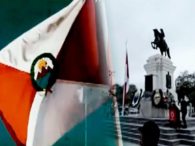 Pisco: celebran los 201 años de la primera bandera y escudo nacional