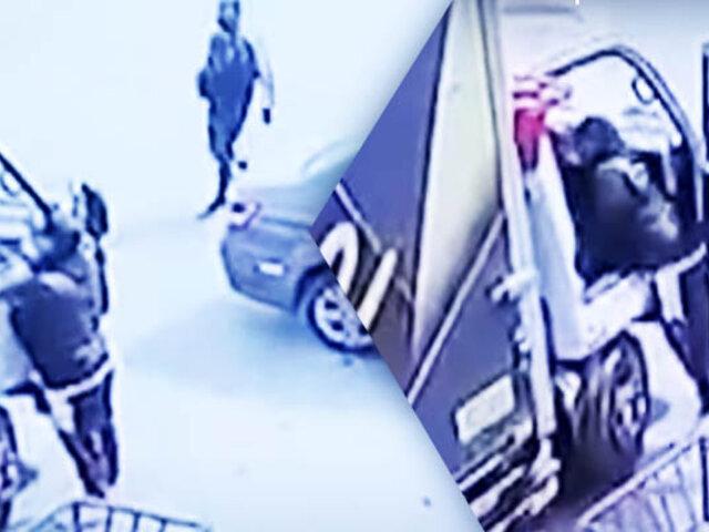 Delincuentes asaltan a conductor de camión en SMP