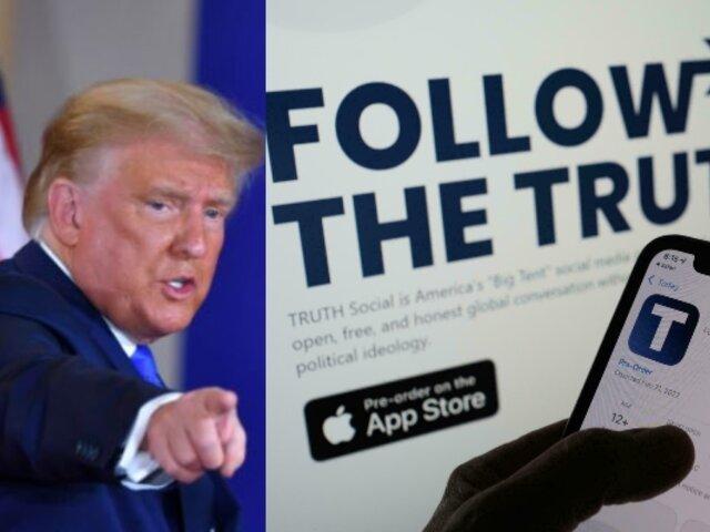 TRUTH Social: Trump lanzará nueva red social para competir con Facebook y Twitter