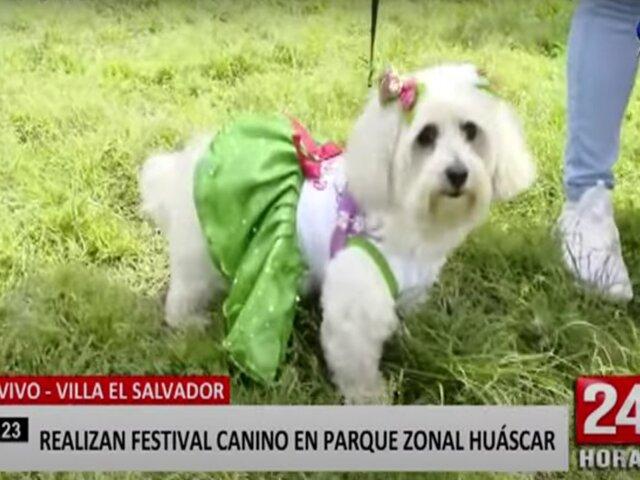 Municipalidad de Lima organiza concurso de disfraces caninos en Parque Zonal Huáscar