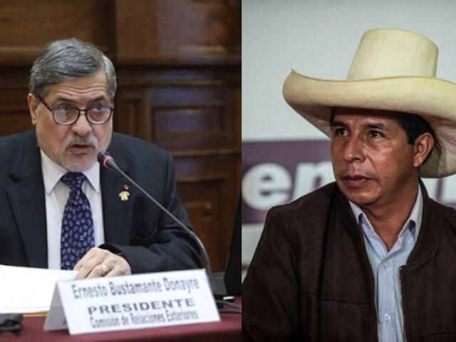 Fuerza Popular votó en abstención al permiso de Castillo para viajar a Bolivia