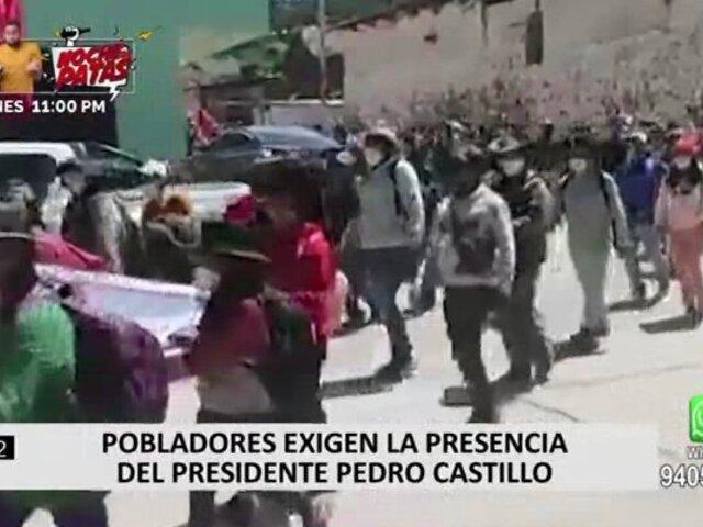 Apurímac: pobladores de Cotabambas y Challhuahuacho acatan paralización indefinida