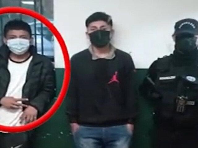 Comas: capturan a delincuentes que habían ingresado a vivienda para robar
