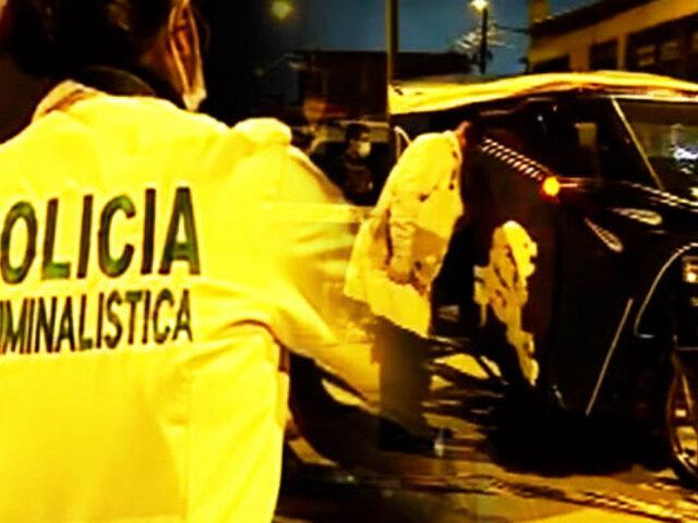Sicario asesina a mototaxista en el Callao