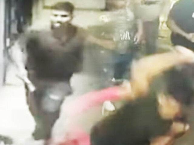 Con cuchillos sujetos atacaron a grupo de amigos en San Luis
