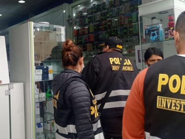 Trujillo: incautan celulares de contrabando y accesorios tecnológicos adulterados
