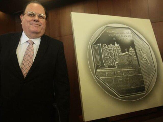 Comisión Permanente ratifica a Julio Velarde como presidente del Banco Central de Reserva