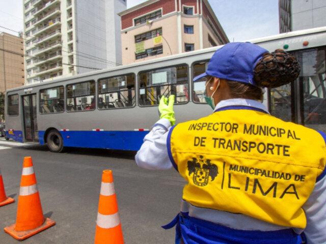 Señor de los Milagros: restricción al tránsito en Av. Tacna continuará hasta el 1 de noviembre