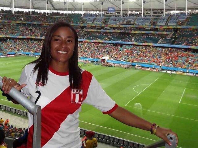 Seleccionada de fútbol, Marisella Joya denunció ataques racista en redes sociales