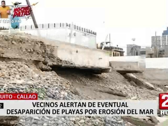 Erosión del mar provocaría desaparición de playas en Chucuito