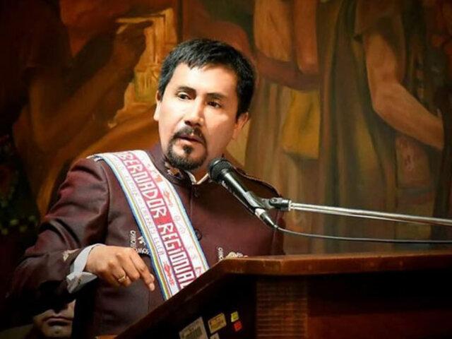 Arequipa: Gobernador regional Élmer Cáceres fue detenido por presunto caso de corrupción