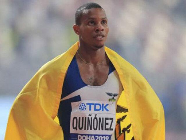 Conmoción en Ecuador: asesinan a reconocido velocista olímpico Alex Quiñónez