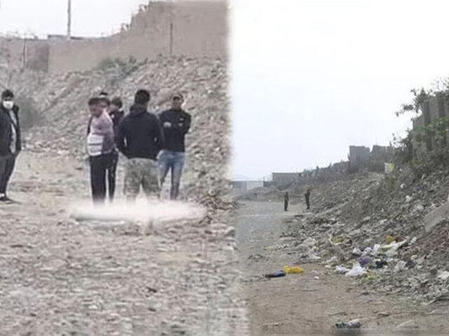 Trujillo: matan a balazos a una joven de 20 años y arrojan su cuerpo a un cauce