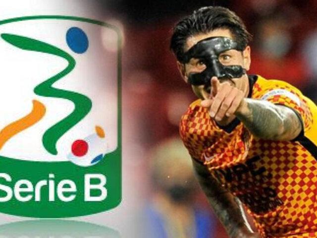 Lapadula anotó en goleada del Benevento en la Serie B