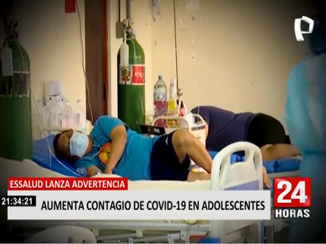 Covid-19: EsSalud revela incremento de contagios en adolescentes