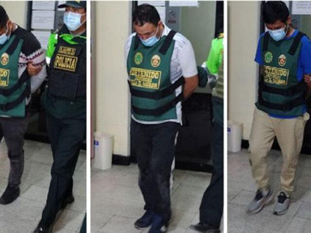 VES: tras intensa persecución capturan sujetos armados que robaron S/ 14 000 a empresario