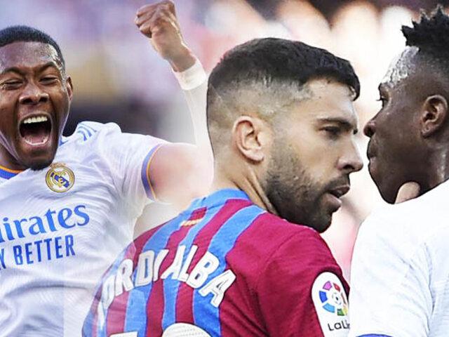 Barcelona cayó por 2-1 ante Real Madrid en el súper clásico español
