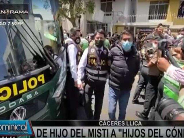 Arequipa: Gobernador Cáceres Llica pasará 15 días detenido de manera preliminar