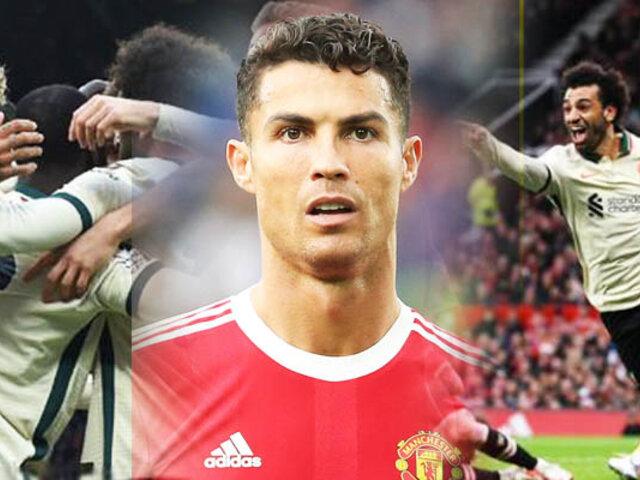 ¡Goleada aplastante!: Liverpool aplastó 5-0 al Manchester United de CR7