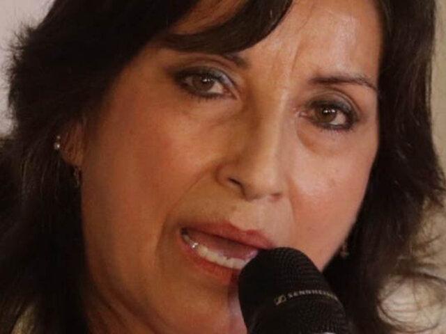 Dina Boluarte es investigada por presunto lavado de activos