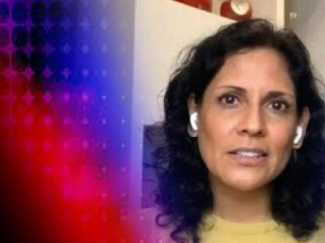 """Maite Vizcarra: """"Al Perú hay que salvarle la vida, no hay que ponerlo en situaciones de tanto riesgo"""""""