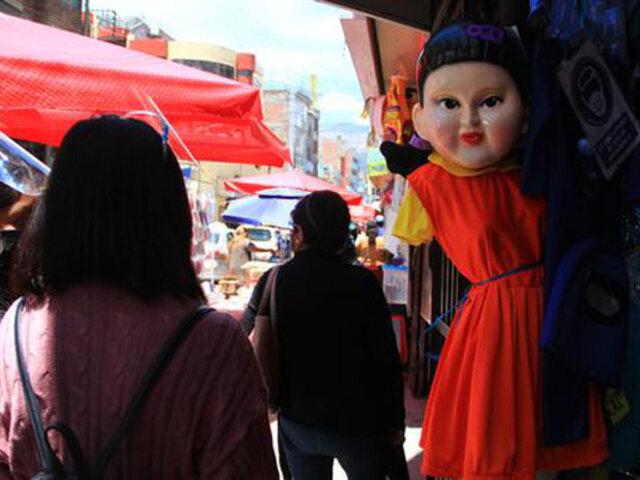 Huancayo: disfraz del 'Juego del Calamar' es uno de los más vendidos por Halloween